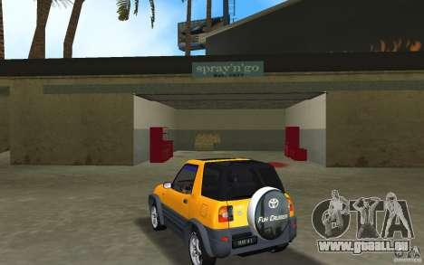 Toyota RAV4 L 1994 für GTA Vice City zurück linke Ansicht