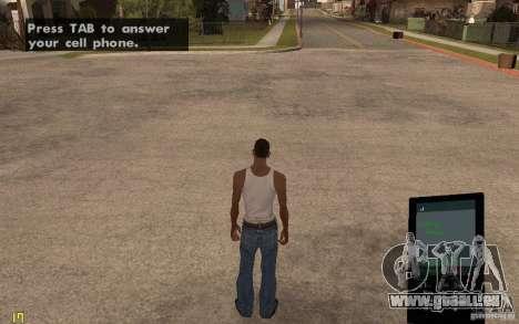 Téléphone de GTA IV pour GTA San Andreas