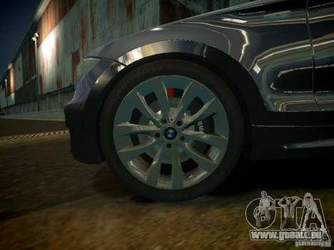 BMW 120i pour GTA 4 Vue arrière