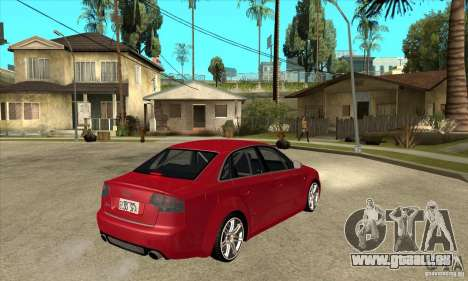 Audi RS4 2006 für GTA San Andreas rechten Ansicht