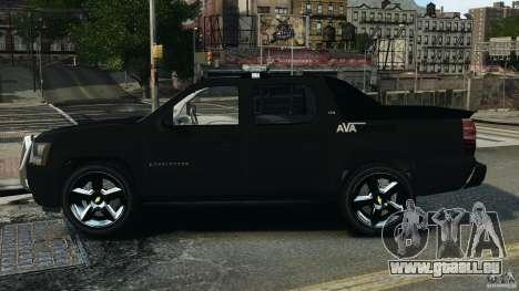Chevrolet Avalanche 2007 [ELS] für GTA 4 linke Ansicht