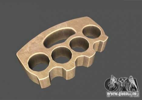 [Point Blank] Brass Knuckles pour GTA San Andreas