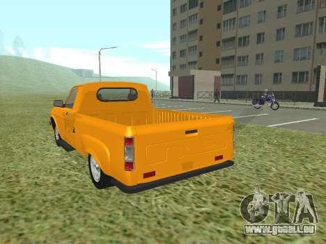 GAZ Trofim 17310 pour GTA San Andreas sur la vue arrière gauche