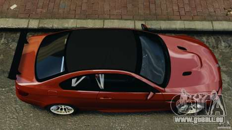 BMW M3 GTS 2010 pour GTA 4 est un droit
