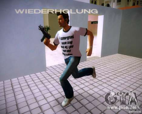Vz-61 Skorpion für GTA Vice City zweiten Screenshot