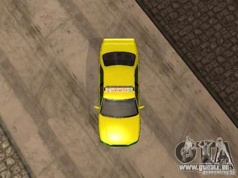 Toyota Camry Thailand Taxi pour GTA San Andreas vue arrière