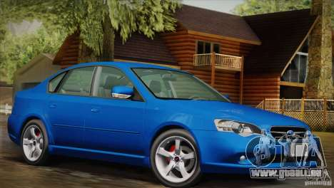Subaru Legacy 2004 v1.0 pour GTA San Andreas vue de droite