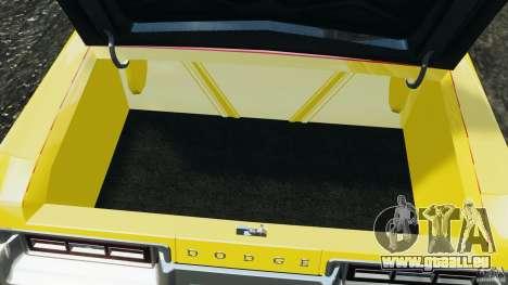 Dodge Monaco 1974 Taxi v1.0 pour GTA 4 est une vue de dessous