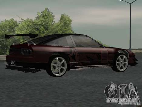 Nissan 240 SX pour GTA San Andreas vue de droite