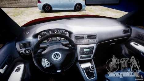 Volkswagen Golf IV R32 v2.0 pour GTA 4 Vue arrière
