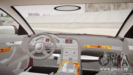 Audi A6 Allroad Quattro 2007 wheel 1 pour GTA 4 Vue arrière