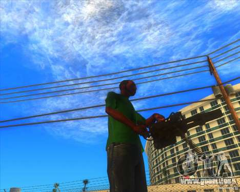 M134 minigan für GTA San Andreas her Screenshot