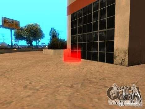Concert de l'AK-47 v 2.5 pour GTA San Andreas troisième écran