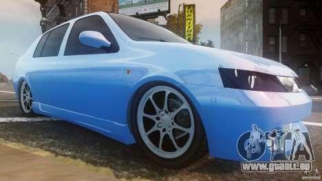 Renault Clio Tuning pour GTA 4 est une vue de l'intérieur