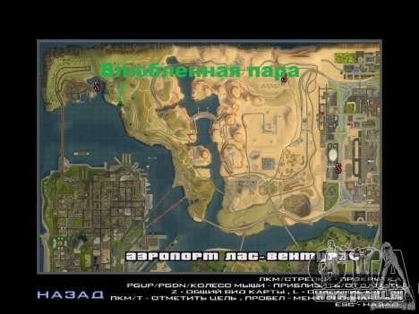 Voyage sur la route pour GTA San Andreas cinquième écran