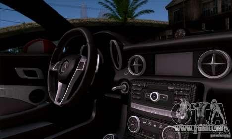 Mercedes Benz SLK55 R172 AMG pour GTA San Andreas vue arrière