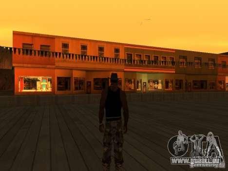 La villa de la noche beta 1 pour GTA San Andreas