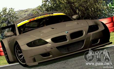 BMW Z4 E85 M GT 2008 V1.0 für GTA San Andreas Rückansicht