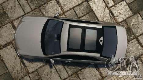 Mercedes-Benz E63 AMG pour GTA 4 est un droit