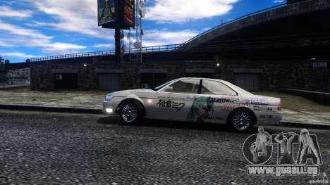 Nissan Laurel GC35 Itasha pour GTA 4 Vue arrière de la gauche
