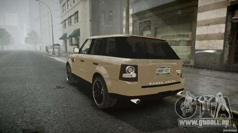 Range Rover Sport pour GTA 4 est une vue de l'intérieur