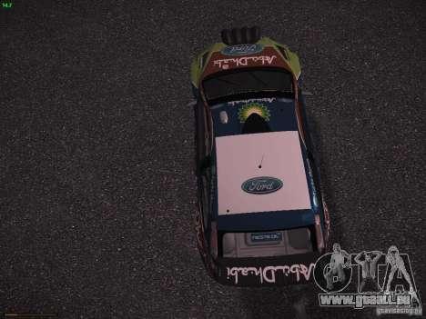 Ford Focus RS WRC 2010 für GTA San Andreas Innenansicht