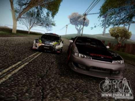Nissan Silvia S14 Hell pour GTA San Andreas vue de côté