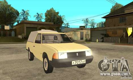 AZLK 2335 für GTA San Andreas Rückansicht