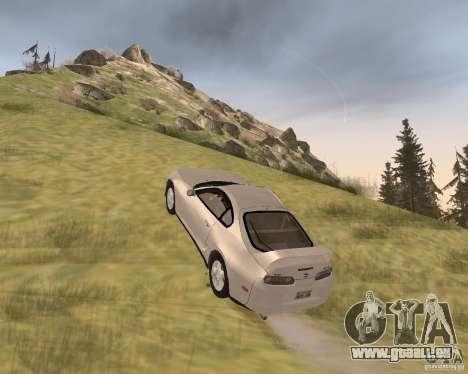 Toyota Supra 3.0 24V pour GTA San Andreas vue de droite
