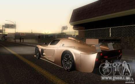 Maserati MC12 GT1 pour GTA San Andreas laissé vue