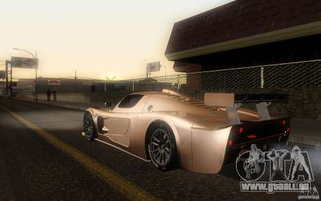 Maserati MC12 GT1 für GTA San Andreas linke Ansicht