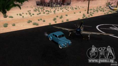 Ford Deluxe Coupe 1940 pour GTA San Andreas vue de droite