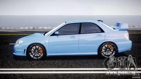 Subaru Impreza STI pour GTA 4 est une gauche