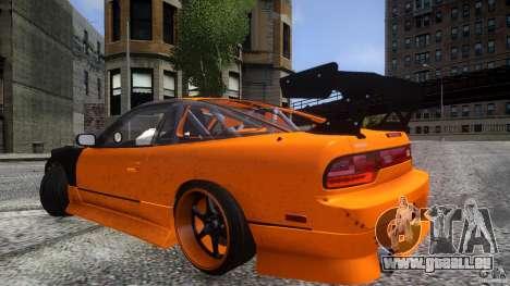 Nissan 240SX Korch pour GTA 4 est une vue de dessous