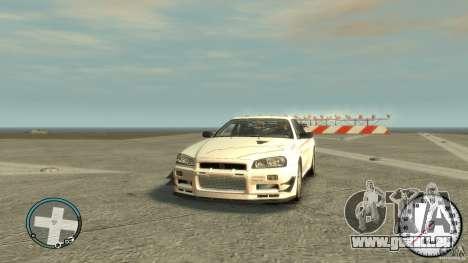 Nissan Skyline GTR R34 Mine s für GTA 4
