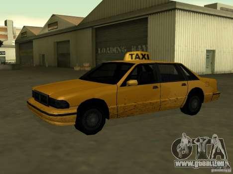 Realistische Textur des ursprünglichen Autos für GTA San Andreas