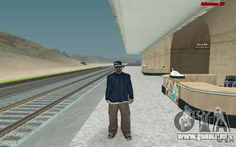 Neue Skins für Bande Varios Los Aztecas für GTA San Andreas zweiten Screenshot