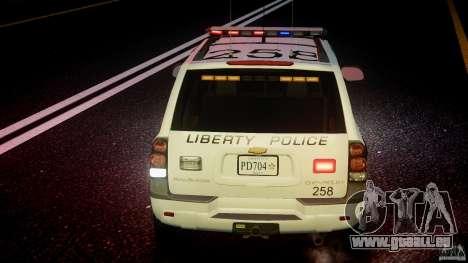 Chevrolet Trailblazer Police V1.5PD [ELS] pour le moteur de GTA 4
