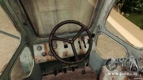 Traktor t-40 für GTA Vice City rechten Ansicht