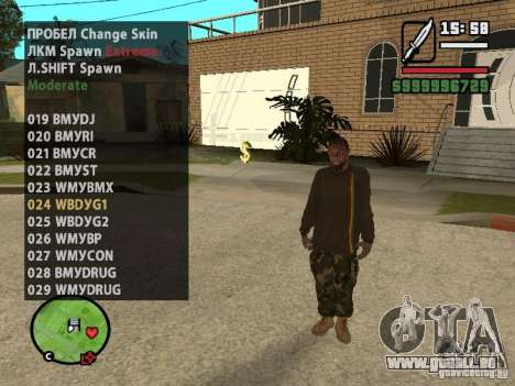 GTA IV peds to SA pack 100 peds pour GTA San Andreas