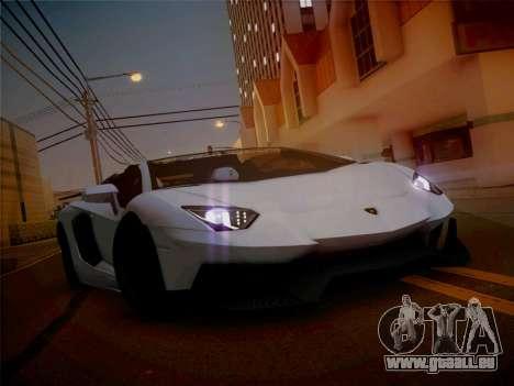 Lamborghini Aventador LP700-4 Roadstar pour GTA San Andreas