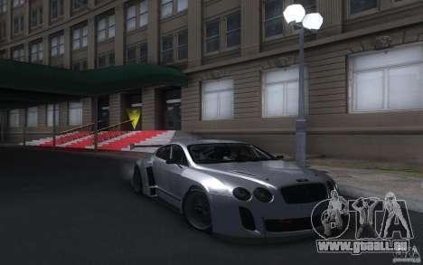 Bentley Continental Super Sport Tuning für GTA San Andreas zurück linke Ansicht