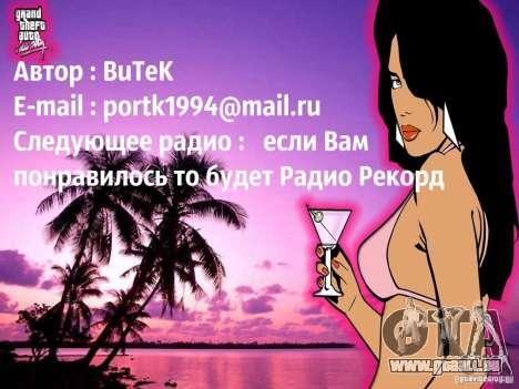 Radio popsa par BuTeK GTA Vice City pour la troisième écran