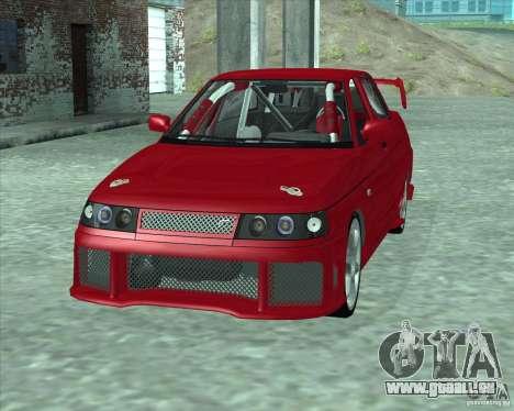 LADA 21103 Street Tuning v1.0 pour GTA San Andreas sur la vue arrière gauche