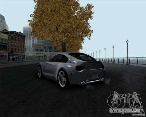 BMW Z4M pour GTA San Andreas laissé vue