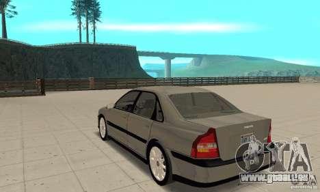 Volvo S80 1999 pour GTA San Andreas sur la vue arrière gauche