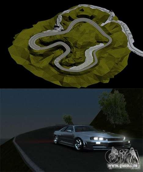 Rocky Drift Island pour GTA 4