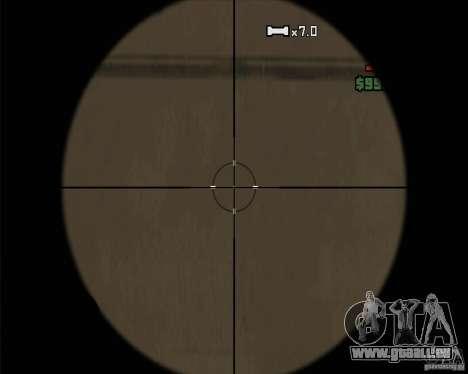 Schnickschnack für Waffen für GTA San Andreas achten Screenshot