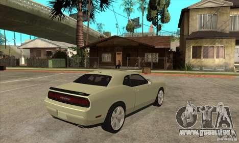 Dodge Challenger SRT8 2009 für GTA San Andreas rechten Ansicht