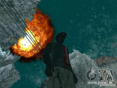 Salut v1 pour GTA San Andreas troisième écran